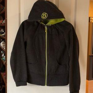 Luke lemon sweat jacket